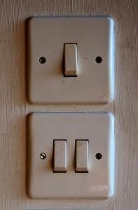 Ne jouez pas trop avec l'interrupteur